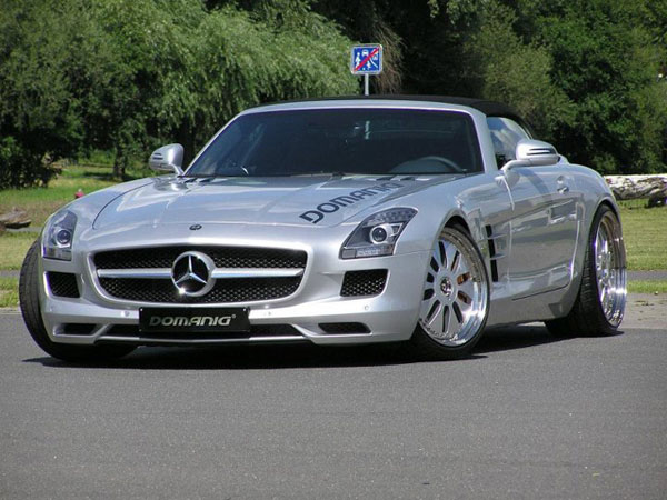 Mercedes-Benz SLS AMG Roadster в тюнинге Domanig