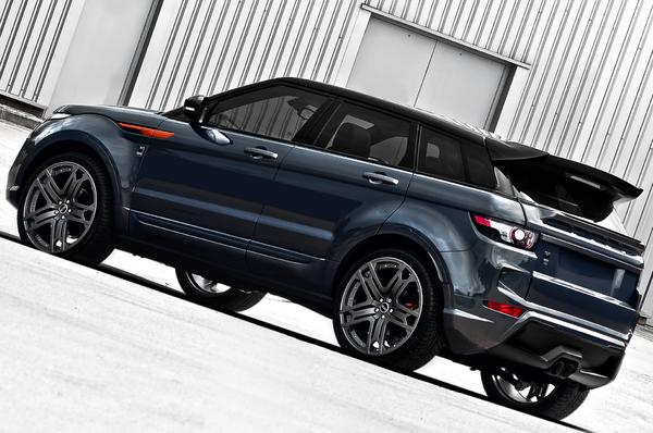 Range Rover Evoque RS250 Dark Tungsten от A. Kahn